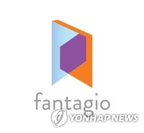 Corporate logo of K-pop management agency Fantagio (Yonhap)