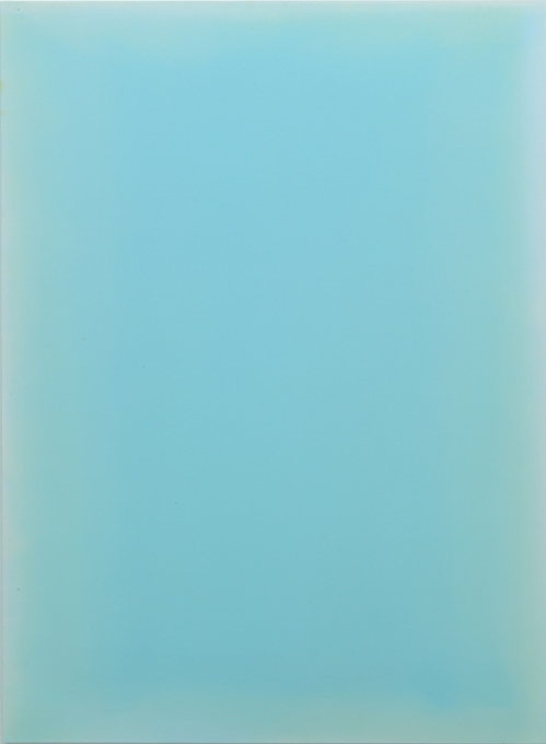 """The image, provided on Jan. 3, 2018 by Leeahn Gallery in Seoul, shows """"Breathing Light - Jade Green"""" by Kim Taek-sang. (Yonhap)"""