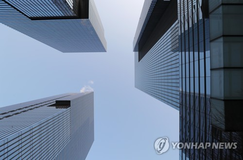 This photo taken Jan. 9, 2018, shows South Korea's largest conglomerate Samsung's offices in Seoul. (Yonhap)
