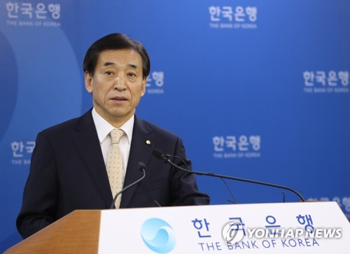 S.Korea keeps rates unchanged, flags policy caution