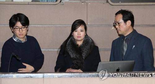 North Korea's cultural delegate and pop star Hyon Song-wol under spotlight