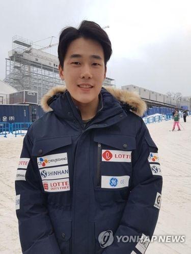 A file photo of South Korean mogul skier Choi Jae-woo (Yonhap)