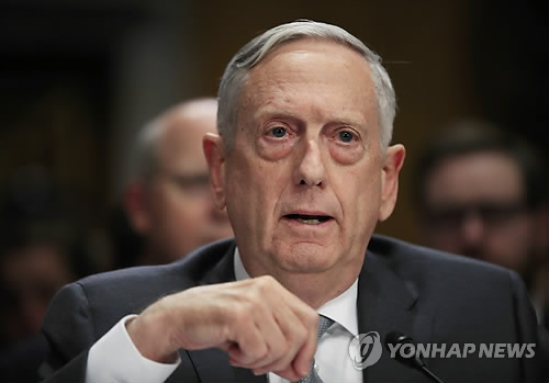 US Defense Secretary Mattis holds meeting with Retno