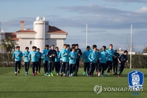 S. Korea football coach to test newcomers in friendly vs. Moldova