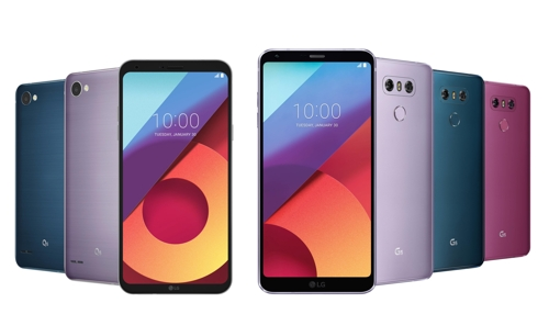 LG reveals new colors for its G6 and Q6 phones