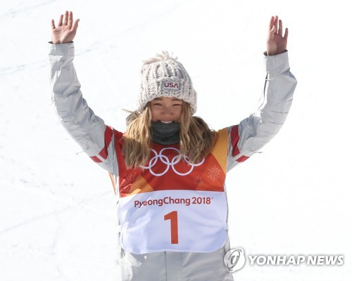 (Olympics) Snowboard sensation Chloe Kim makes dominant Winter Games debut