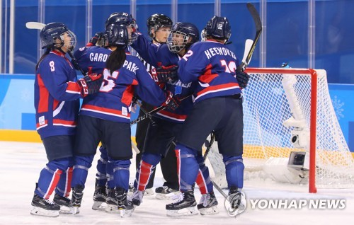 Winter Olympics: North Carolina's Griffin scores Korea's first women's hockey goal