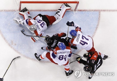 Olympics: Czech hockey team defeats Canada 3-2 in shootout