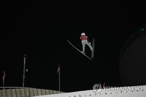Athletes in motion at the Pyeongchang Olympics