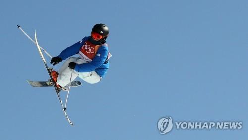 Athletes in motion at the Pyeongchang Olympics