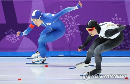 S. Korean speed skater Lee Sang-hwa