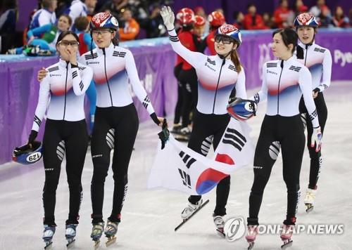 South Korean skater wins silver after team pursuit dispute