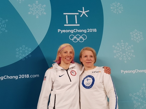 Winter Olympics 2018: United States  women's hockey team after gold in Day 12