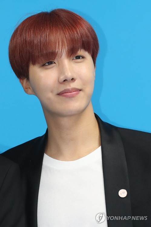 This File Photo Shows J Hope Of BTS Yonhap