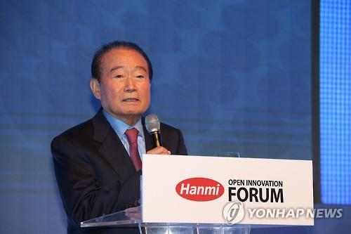 A file photo of Lim Sung-ki, chairman of leading pharmaceuticals firm Hanmi Pharm Co. (Yonhap)