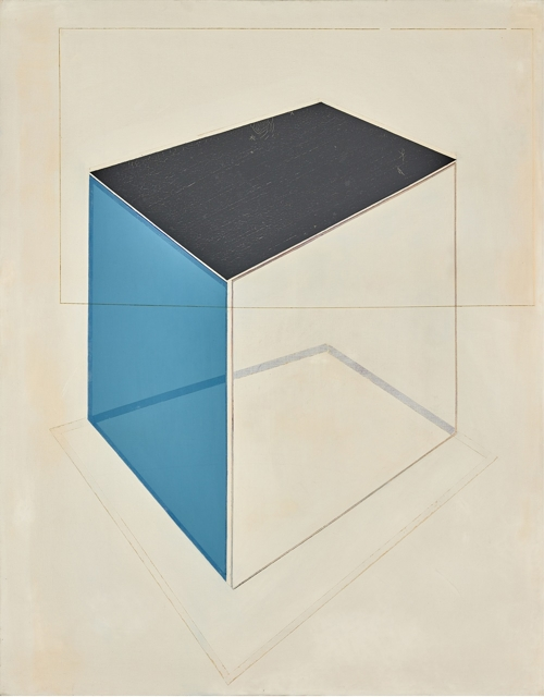 """This image provided by Arario Gallery in Seoul on March 7, 2018, shows artist Suh Seung-won's """"Simultaneity 69-1,"""" which he painted in 1969. (Yonhap)"""