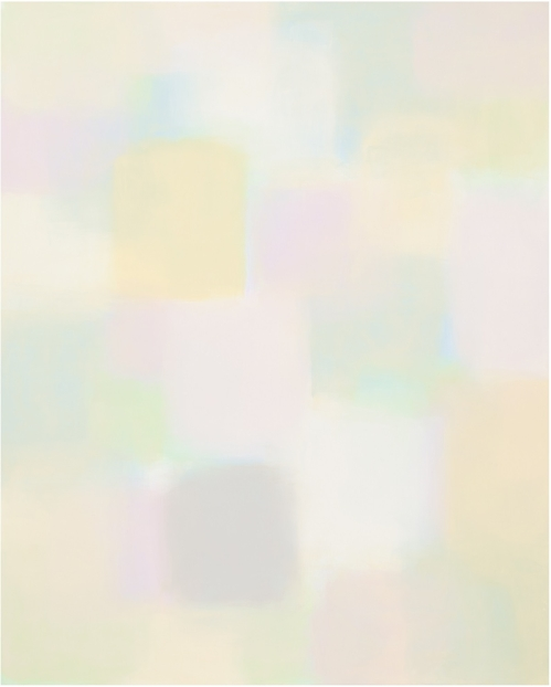 """This image provided by Arario Gallery in Seoul on March 7, 2018, shows artist Suh Seung-won's """"Simultaneity 17-605,"""" which he painted in 2017. (Yonhap)"""