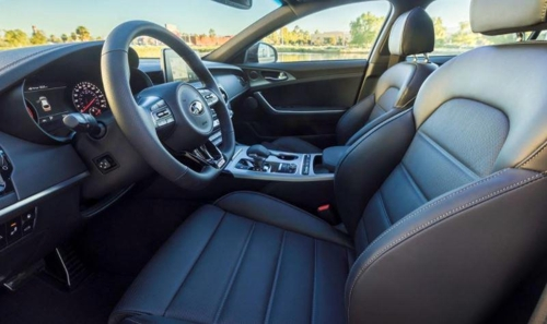 This File Photo, Provided By Kia Motors Corp., Shows The Interior Design Of