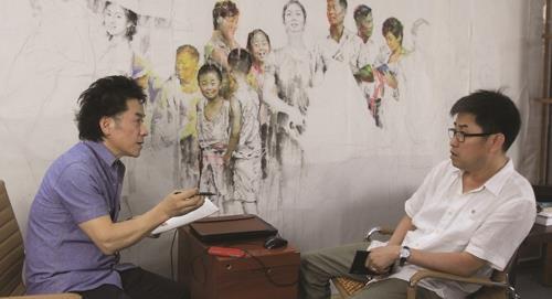 New book takes rare, deep look into N. Korean art, Chosonhwa