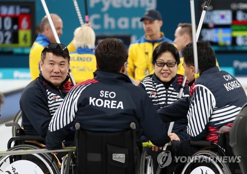 China enters wheelchair curling final at Winter Paralympics