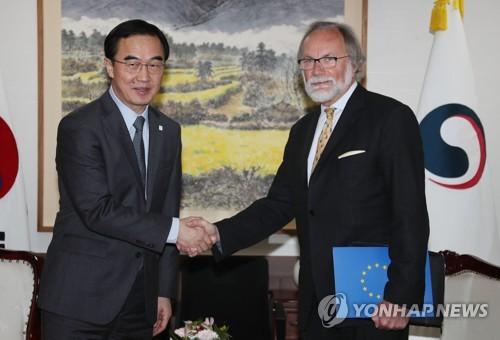 North Korea meeting: N Korean Minister in surprise Sweden visit
