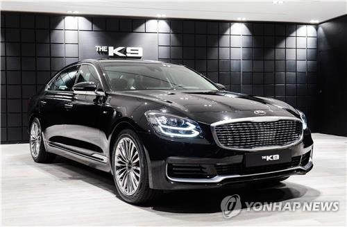 Preorders open for Kia K9 flagship sedan