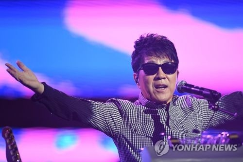 This undated file photo shows Korean pop icon Cho Yong-pil. (Yonhap)