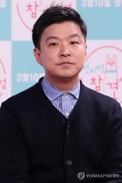 The file photo is of South Korean comedian and TV presenter Kim Saeng-min. (Yonhap)