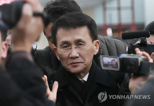 Choe Kang-il, the acting director-general at the North Korean foreign ministry's bureau for North American affairs, arrives in Beijing, China on March 22, 2018 after attending a semi-official meeting with former South Korean and United States officials and experts in Helsinki, Finland. (Yonhap)