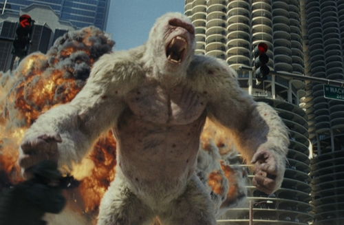 """A still from """"Rampage."""" (Yonhap)"""