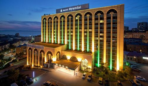 The Hyundai Hotel in Vladivostok bought by Lotte, in this photo courtesy of Lotte (Yonhap)