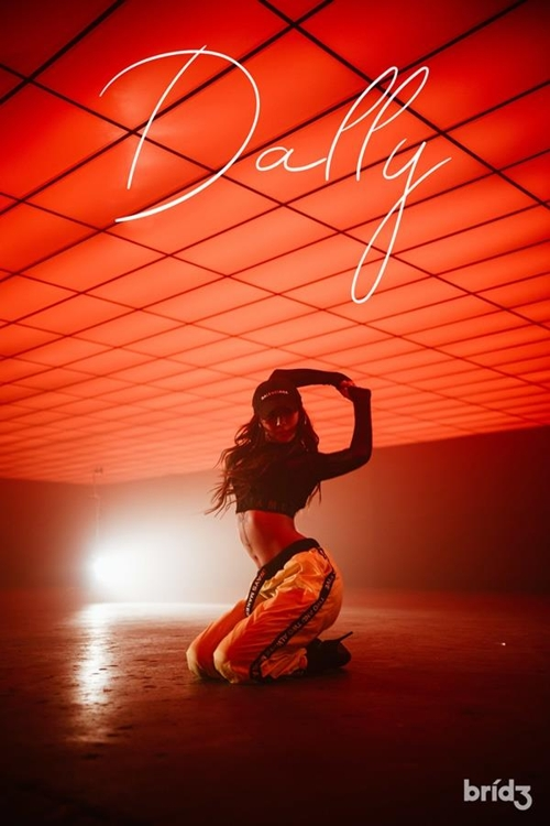 """This photo released by Bridge is a promotional image for Hyolyn's new single """"Dally."""" (Yonhap)"""