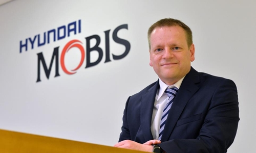 Carsten Weiss, vice president in charge of developing in-vehicle infotainment software at Hyundai Mobis, is pictured in this photo provided by the company on May 10, 2018. (Yonhap)