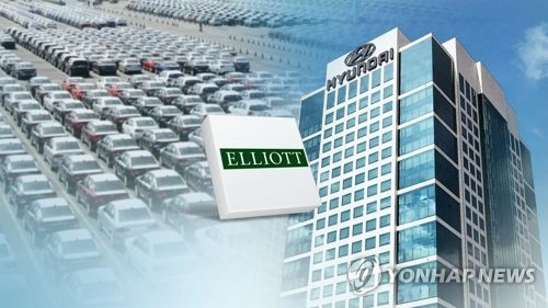 Hyundai Mobis CEO opposes Elliott's proposal on holding firm