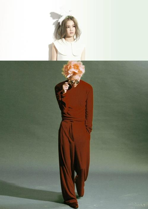 This composite file photo shows singers Lee Hi and Zion. T. (Yonhap)