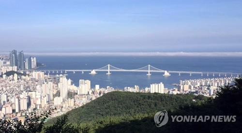 South Korea's No. 1 port city of Busan (Yonhap)