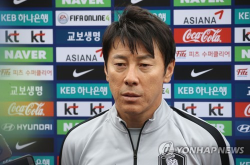 S. Korean football coach hoping team will stay healthy during World Cup preparations