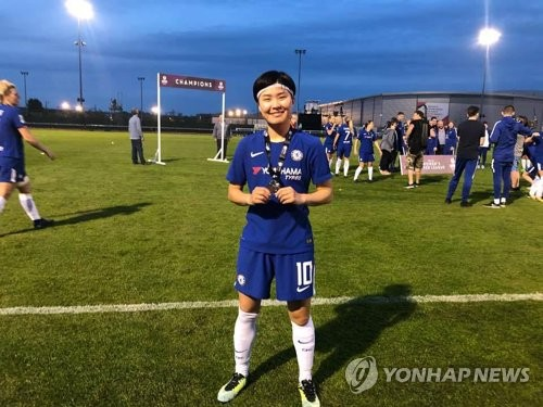 S. Korean Ji So-yun signs 2-year extension with Chelsea Ladies