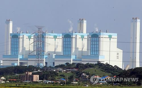 S. Korea to set limits on operation of coal-fired power plants