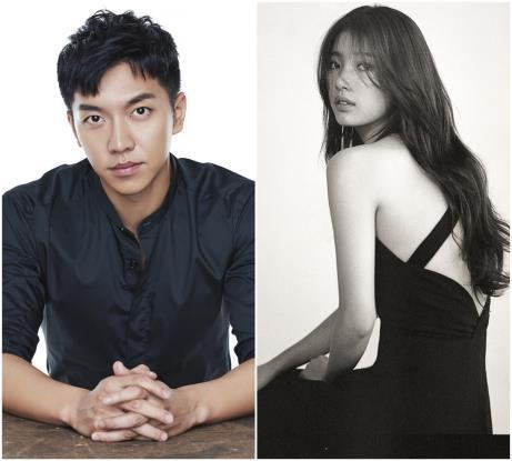 These photos provided by Hook Entertainment and JYP Entertainment show actors Lee Seung-ki (L) and Suzy. (Yonhap)