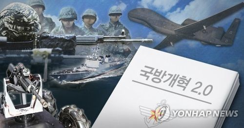 This image depicts South Korea's defense reform plan. (Yonhap)