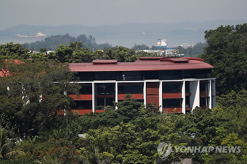 This Reuters photo shows the Capella Hotel in Singapore. (Yonhap)