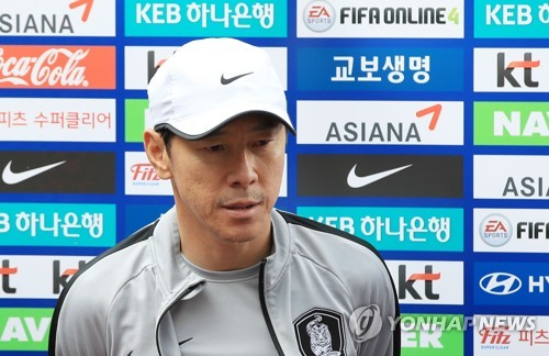 South Korea national football team head coach Shin Tae ...