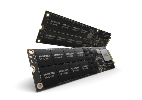 (LEAD) Samsung showcases new SSD for data centers