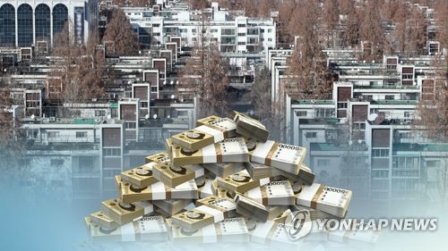 S. Korean housing market's aggregate value tops 4,000 tln won in 2017
