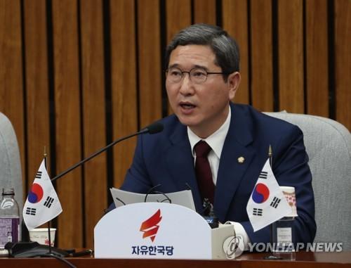 Rep. Kim Hack-yong of the main opposition Liberty Korea Party (Yonhap file photo)