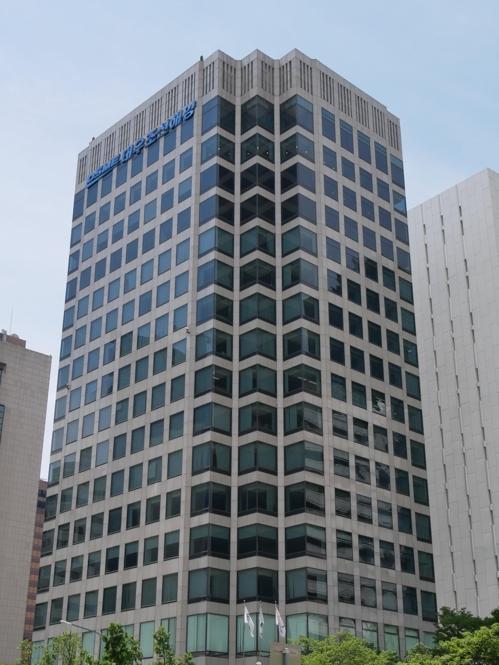 DSME's main office in downtown Seoul (Yonhap)