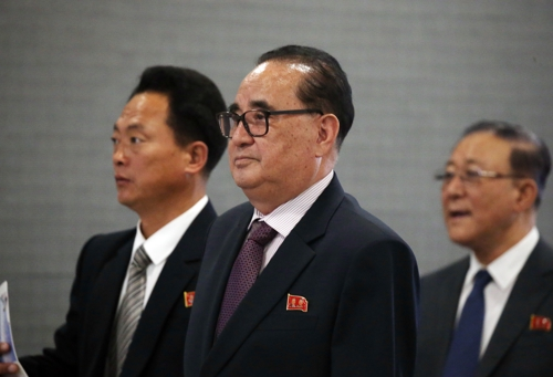 Ri Su-yong, vice chairman of North Korea's communist party, in a file photo (Yonhap)