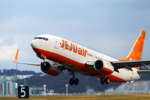 Jeju Air's B737-800NG (Yonhap)