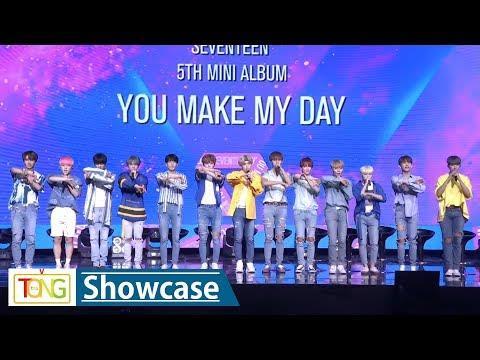 Seventeen showcases new album 'You Make My Day'